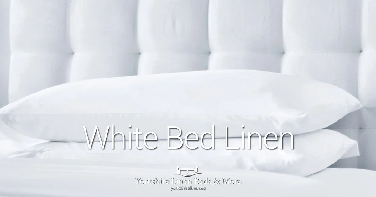 White Bed Linen for Hotels & Holiday Homes