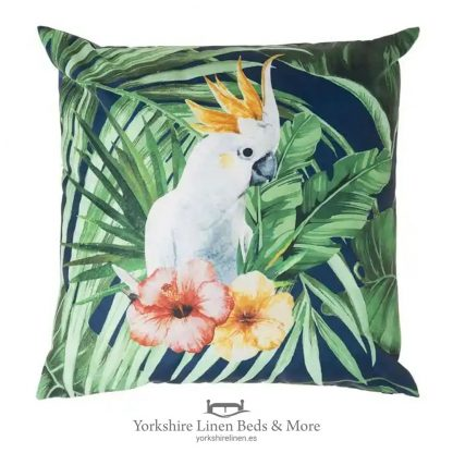 Outdoor Cushion, Cockatoo - Cushions & Cushion Covers - Yorkshire Linen Beds & More