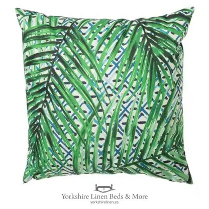 Outdoor Cushion, Leaves - Cushions & Cushion Covers - Yorkshire Linen Beds & More