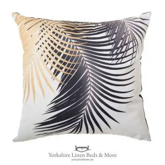 Outdoor Cushion, Ochre Palm - Cushions & Cushion Covers - Yorkshire Linen Beds & More