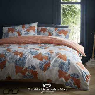 Japanese Koi Duvet Set - Duvet Covers & Bedding Sets - Yorkshire Linen Beds & More P01