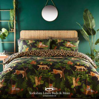 Jungle Tiger Duvet Set - Duvet Covers & Bedding Sets - Yorkshire Linen Beds & More P01