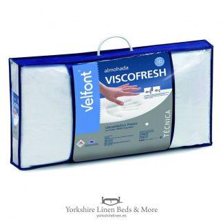 Keep Cool Viscofresh Pillow - Pillows Duvets Mattresses Beds - Yorkshire Linen Beds & More