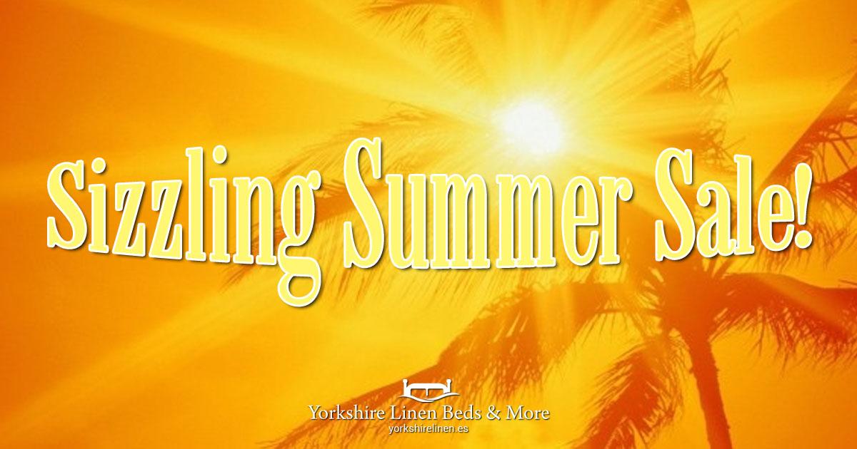 Sizzling Summer Sale 2021 Yorkshire Linen Beds & More OG01