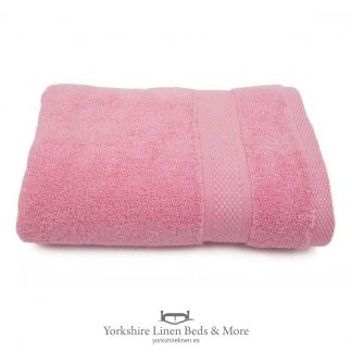 Luxury 600 GSM Zero Twist Towels, Coral - Towels and Bathroom - Yorkshire Linen Beds & More