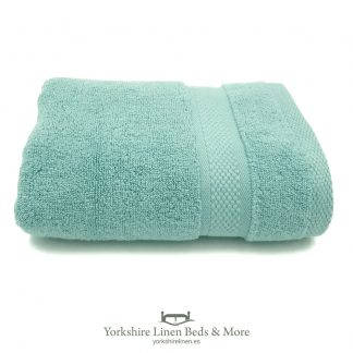 Luxury 600 GSM Zero Twist Towels, Duck Egg - Towels and Bathroom - Yorkshire Linen Beds & More 03