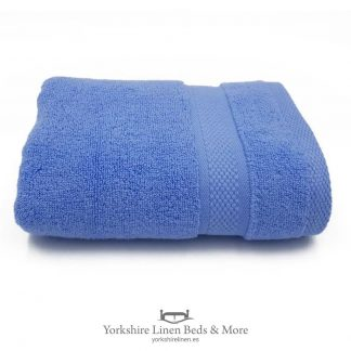 Luxury 600 GSM Zero Twist Towels, Light Blue - Towels and Bathroom - Yorkshire Linen Beds & More
