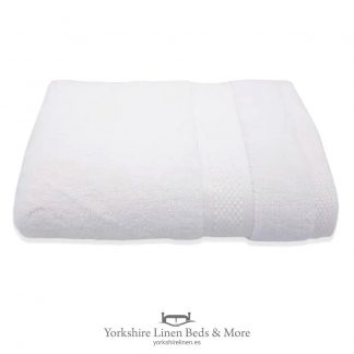 Luxury 600 GSM Zero Twist Towels, White - Towels and Bathroom - Yorkshire Linen Beds & More