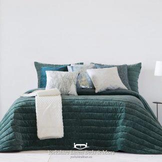 Nantes Luxury Bedspread Range, Ocean - Bedspreads & Throws - Yorkshire Linen Beds & More