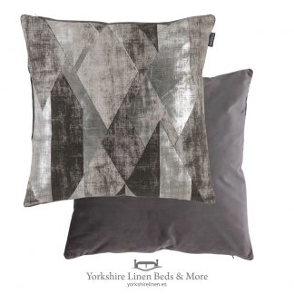 Urban Geo Cushion, Grey - Cushions and Home Decoration, Yorkshire Linen Beds & More