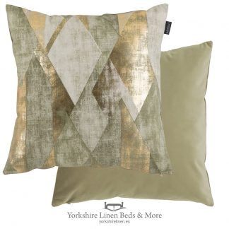 Urban Geo Cushion, Khaki - Cushions and Home Decoration, Yorkshire Linen Beds & More