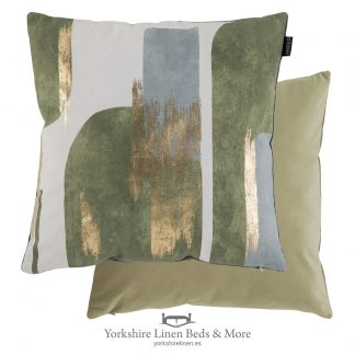 Urban Splash Cushions, Khaki - Cushions and Cushion Covers from Yorkshire Linen Beds & More P01