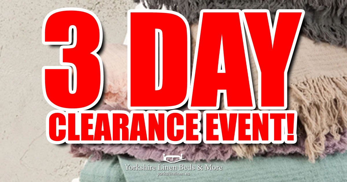 3 Day Clearance Event OG01